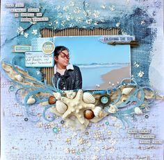 Kaisercraft - Sandy Toes - Cathy Cafun