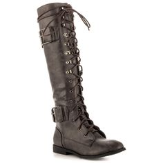 122.55$  Watch here - http://ali6wk.worldwells.pw/go.php?t=32567063749 - Pale Deep Grey Knee Boots For Women Shoes sapato feminino Flat Heel Round Toe Womans Boots For Women Made-to-order Large US14