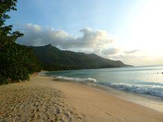 Beau Vallon Beach, Mahe, Seychelles by Linda Shiue