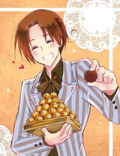 Happy Hetalia Valentines Day. OMG I love those kinds of chocolates xD