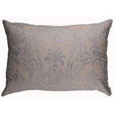 Lili Alessandra Louie Rectangle Pillow in Natural/Blue Linen @Demi Bredefeld Ryan #demiryanhome #homedesignboutique #design #shopping