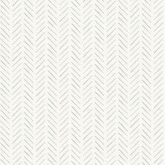 Magnolia Home Pick-Up Sticks Wallpaper - Blue/Grey Inspired by the game of its namesake, these blue/grey soft lines create a loosely defined herringbone pattern with an allover stripe effect. Book: Magnolia Home Artful Prints & Patterns by Joanna Gaines Wallpaper Samples, Home Wallpaper, Wallpaper Roll, Peel And Stick Wallpaper, Pattern Wallpaper, Cottage Wallpaper, Plaid Wallpaper, Bedroom Wallpaper, Retro Wallpaper