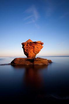 Tea Cup Rock, Prince Edward Island, Canada ... da würde ich auch gerne mal hin!!