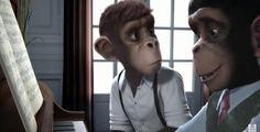 Sinfonía de monos, curtametraxe. École supérieure des métiers artistiques.