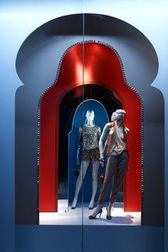 Diane von Furstenberg :: New York 2013 Window Display Design, Store Window Displays, Pop Display, Visual Display, Display Windows, Windows 2013, Retail Windows, Store Windows, Showcase Design