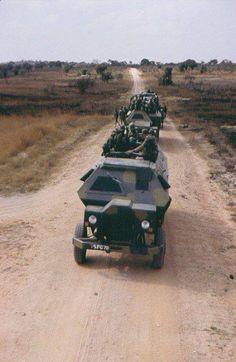 -Rhodesian Bush War ! War Photography, Ivory Coast, Sierra Leone, Military History, Congo, Military Vehicles, South Africa, Egypt, Monster Trucks