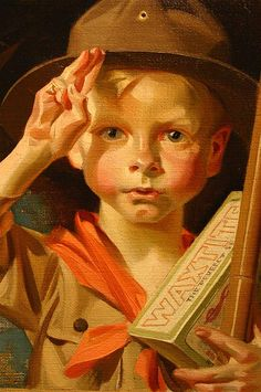 Bohemian Art Club: J.C. Leyendecker at the Haggin Museum-Part VI