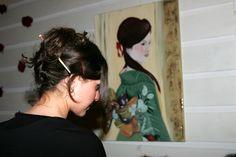 vernissage s.frediano Firenze Barbara Bertini