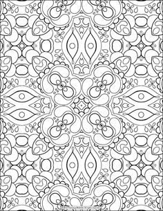 free adult coloring page abstract pattern by thaneeya mcardle