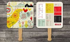 45 Remarkable Food & Drink Menu Designs | Graphic & Web Design Inspiration + Resources