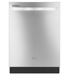 Upgraded Whirlpool Dishwasher (upgraded monochromatic stainless steel finish) - ENERGY STAR® Qualified Dishwasher With Silverware Spray