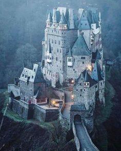 El Castillo de Eltz, Alemania