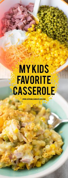 A simple casserole for kids who are picky eaters! It's quick, easy and great for… A simple casserole for kids who are picky eaters! It's quick, easy and great for a family weeknight dinner. Comfort food without all the hard work! Easy Dinners For Kids, Dinner Ideas For Kids, Quick Dinner For Kids, Easy Kids Dinner Recipes, Healthy Quick Dinners, Easy Supper Ideas, Easy Dinner Meals, Easy Meal Ideas, Quick Family Dinners