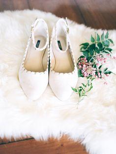 Suede ballet flats:  http://www.stylemepretty.com/california-weddings/2016/01/21/an-event-coordinators-dreamy-organic-romantic-backyard-wedding/   Photography: Daphne Mae - http://www.daphnemaephotography.com/