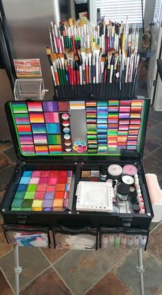 face painting kit cool