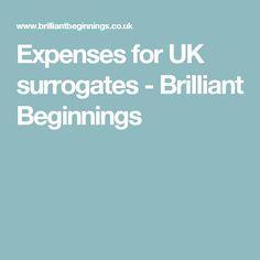 Expenses for UK surrogates - Brilliant Beginnings
