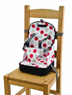 Polar Gear Go Anywhere Travel Feeding Booster Seat $40 - great for about 15 lb and up. Love that it has shoulder straps to prevent my 8 month old from falling out. Great for restaurants, hotels, vacation homes, etc. Folds up to about 8x10x3