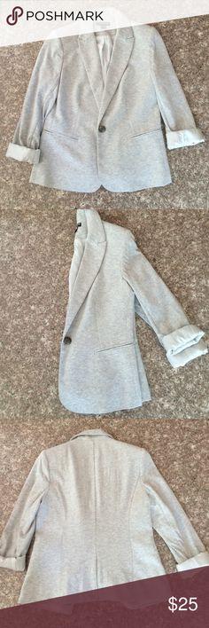 Light Gray Blazer Gray blazer, never been worn before. Jackets & Coats Blazers