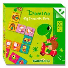 +3 anys Domino Animals 12.95€