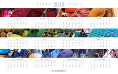 FREE printable calendar 2013   Manù - Macramè & Much more