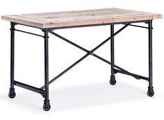 Paxton Desk Natural Oak