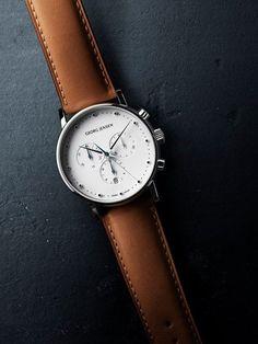 Montre Georg Jensen #mode #look #montre #georgjensen #koppel #chic #fashion #fashionformen #mensfashion #watches