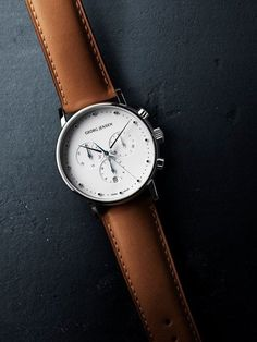 Montre Georg Jensen #mode #look #montre #georgjensen #koppel #chic #fashion #fashionformen #mensfashion #watches
