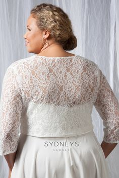Plus Sized Elegant White Wedding Dresses For Stylish Brides | Bridal ...
