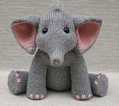 Baby Elephant Knitting Pattern