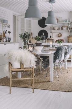 Hygge Hygge The post Hygge appeared first on Esszimmer ideen. Pastel Home Decor, Pretty Room, Scandinavian Living, Dining Room Design, Interior Design Inspiration, Sweet Home, Interior Decorating, Kitchen, Room Ideas