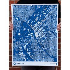 Denver print by CityFabric