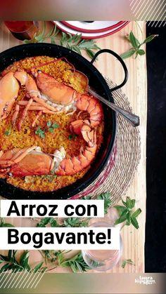 Kitchen Recipes, Cooking Recipes, Seasoned Rice Recipes, Gluten Free Recipes, Healthy Recipes, Lobster Recipes, Shellfish Recipes, Comida Latina, Mediterranean Recipes
