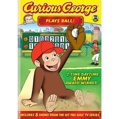 Curious George: Plays Ball DVD