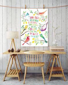 Bohemian Wall Art » Printable Quote » Wild and Free  Quote, Boho Decor » Free Spirit Art » Bird Quote » Boho Chic Art, Boho Print Quote