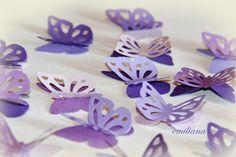 farfalle decorative per addobbo matrimonio