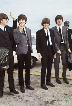 Beatles, John, George, Ringo, Paul