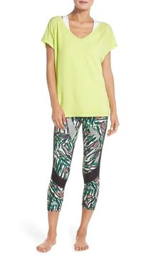 Zella Tee & Capris available at #Nordstrom