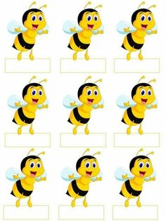 Матеріал для оформлення бджілки Bee Crafts, Crafts For Kids, Bee Activities, Bee Pictures, School Door Decorations, Frida Art, School Frame, School Labels, Bee Party