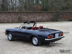 1974 Alfa Romeo Spider 2000 Maintenance/restoration of old/vintage vehicles: the material for new cogs/casters/gears/pads could be cast polyamide which I (Cast polyamide) can produce. My contact: tatjana.alic@windowslive.com