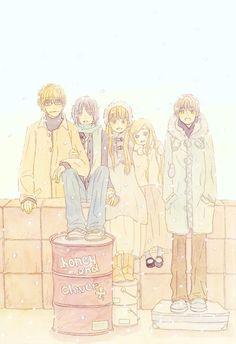 Honey And Clover Manga Manga Art, Manga Anime, Anime Art, Clover Manga, Honey And Clover, Broly Movie, Like A Lion, Animation, Manga Illustration