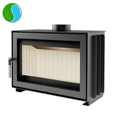 """JAS""inset Wood burning casette insert stove 6kW - 5 years warranty"