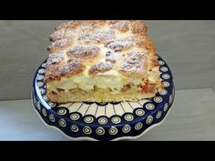 Ciasto z rabarbarem i bezą. Sezonowy klasyk! - YouTube Quiche, Sweet Tooth, French Toast, Pie, Pudding, Baking, Breakfast, Recipes, Teeth
