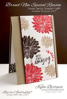 Stampin' Up! Australia: Kylie Bertucci Independent Demonstrator: Global Design Project 065 | Colour Theme