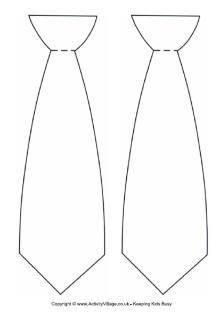 picture about Free Printable Tie Template known as printable ties -