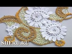 Irish Crochet is a great and incredibly unique technique in needlework. Irish lace is some of the most beautiful and intricate crochet work. Irish Crochet Tutorial, Irish Crochet Patterns, Crochet Flower Tutorial, Crochet Flowers, Freeform Crochet, Thread Crochet, Crochet Motif, Crochet Lace, Tricot Simple