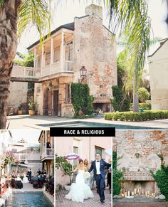 Known as New Orlean's most distinctive location for weddings, Race & Religious can host up to 300 guests in its romantic historical compound. The unique indoor-outdoor space is comprised of two masonry homes built in the 1830s and provides a great backdrop filled with all that NOLA charm. To top it off, R & R would be perfect for destination wedding.
