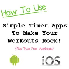 Simple timer app can make your workouts rock! » joefitness