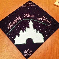 "Disney Grad Cap- ""To Infinity and Beyond"""