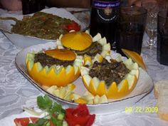 Stuffed Melon from Ottoman Palace Cuisine by Beg
