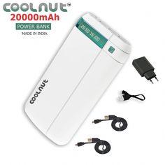 2e07c42b1 COOLNUT 20000mah Power Bank (Black) Buy Mobile